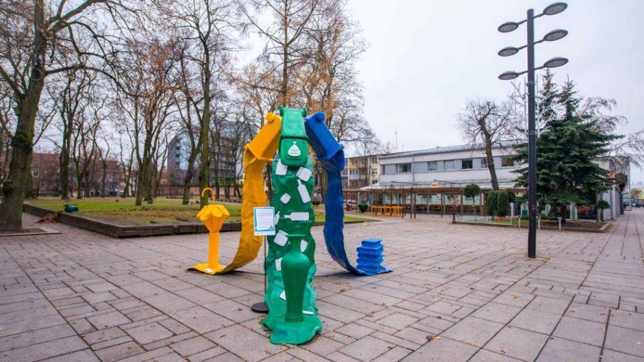 Europos atliekų mažinimo savaitė kauniečius stebina kūrybiškumu