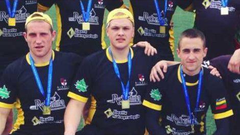 Šiaulių universiteto studentas Donatas Stripeika svajoja suburti čempionų komandą