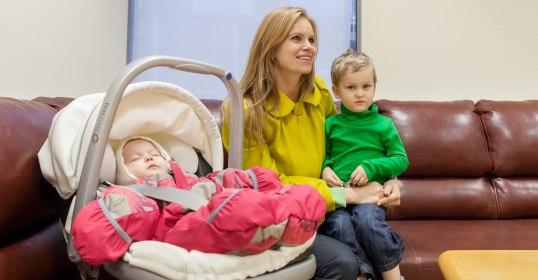 Savivaldybės klientų aptarnavimo centre – kambarys tėvams su mažyliais