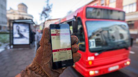 Kaunas – pirmas pasaulyje: pristatyta analogų neturinti viešojo transporto programėlė