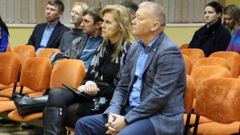 Su Putinų ir Panemunės gyventojais – apie planuojamus ir jau nuveiktus darbus