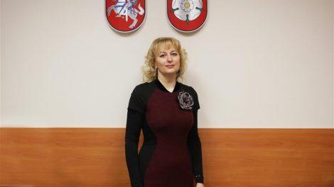 Švietimo skyriuje darbą pradėjo vedėjo pavaduotoja Rimvyda Ališauskienė