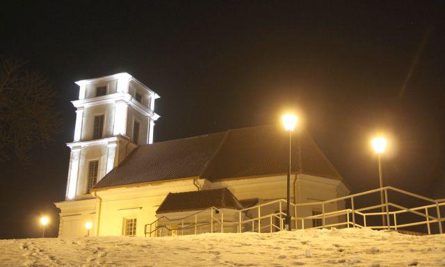 Evangelikų liuteronų bažnyčios apšvietimu prasidėjo naujas projektas