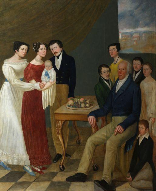 Beveik dešimtmetį restauruotą Gruževskių šeimos portretą pažinti padės interaktyvus gidas
