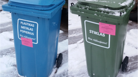 Netinkamai sutvarkytos atliekos išvežamos nebus