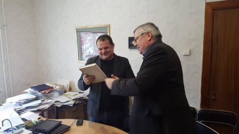 Susitikimai su partneriais Vilniaus dailės akademijos Telšių fakultete