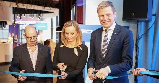 """Vilniuje atidarytas didžiausias Lietuvoje tarptautinis biurų miestas """"Technopolis"""""""