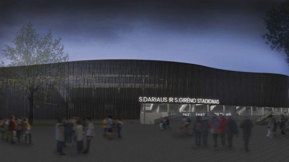 Surado išeitį: po Kauno stadiono rekonstrukcijos – jokių eismo spūsčių