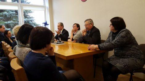 Susitikimas su Saugų bendruomene