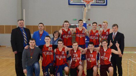 Vilkijos gimnazija – Kauno rajono gimnazijų krepšinio čempionė