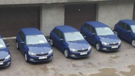 Savivaldybė seniūnijoms perdavė 5 automobilius
