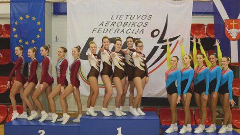 Atvirame Kauno rajono aerobinės gimnastikos čempionate - per 250 dalyvių