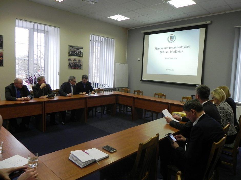 Verslo tarybos posėdyje pristatytas miesto biudžetas ir aptarti valstybinės žemės nuomos mokesčio klausimai