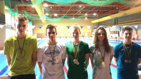 Lietuvos jaunimo plaukimo žiemos pirmenybėse – alytiškių pergalės