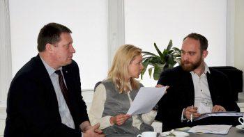 Pasidalinta jaunimo politikos vystymo ir įgyvendinimo Utenos rajono savivaldybėje gerąją patirtimi