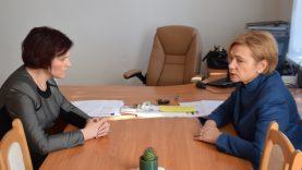 Mero pavaduotoja susitiko su Seimo nare