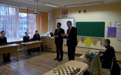 Šachmatų šventė Alytaus Vidzgirio pagrindinėje mokykloje