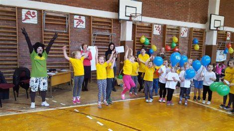 Mažųjų olimpiada Alytaus Vidzgirio pagrindinėje mokykloje