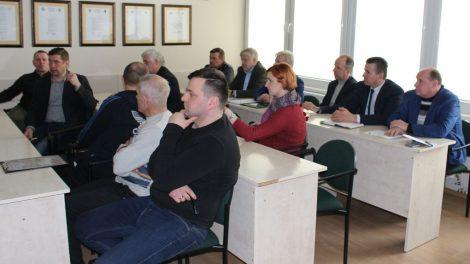Šilutės sporto reikalų tarybos nariai rinkosi į 2 - ąjį posėdį