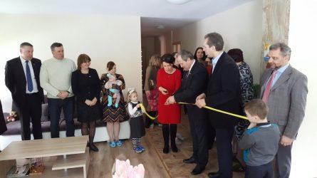 """Švėšknos miestelyje atidaryti bendruomeniniai namai """"Gilės"""""""