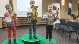 Pirmokui šachmatininkui – bronzos medalis