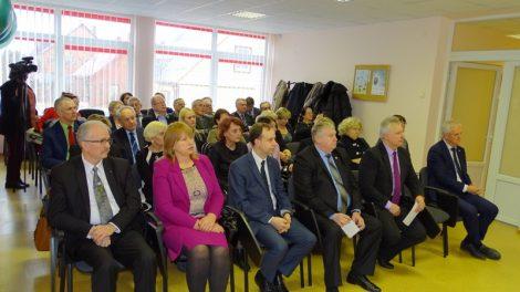 Kelmės rajone lankėsi sveikatos apsaugos ministras Aurelijus Veryga