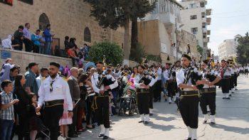 Uteniškiai Palestinoje buvo laukiami svečiai