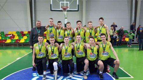 Moksleivių krepšinio lygos jaunių vaikinų U-18 čempionatui pasibaigus