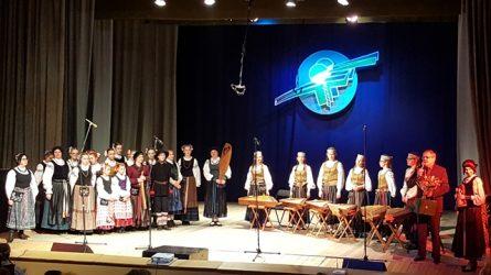 """Šilutės vicemeras pasveikino tautinio festivalio """"Trimitatis"""" dalyvius"""
