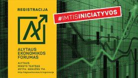 Didžiausias Pietų Lietuvos renginys verslui – Alytaus ekonomikos forumas: registracija jau prasidėjo