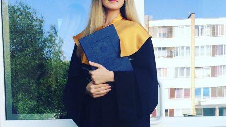 ŠVK absolventė: tik patys galime apsispręsti, kiek ir ko norime pasiimti iš studijų