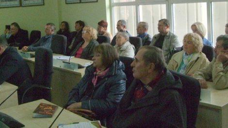 Kelmės seniūnijos salėje žemdirbiams pristatyti aktualūs klausimai