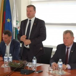 "Premjeras S. Skvernelis ""Anykščiai – unikali vieta Lietuvoje"""