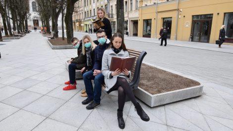 Kaune plinta pakalnutėmis kvepiantis skaitymo virusas