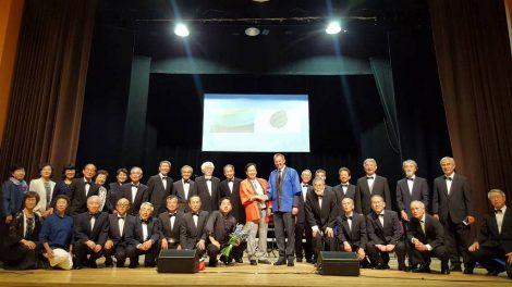 Tauragėje-įspūdingas svečių iš Japonijos koncertas