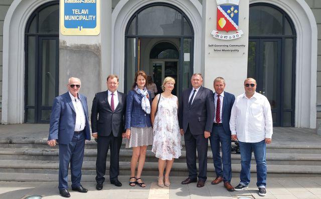 Kėdainiai ir Gruzijos Telavio miestas siekia tapti bendradarbiavimo partneriais