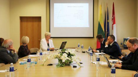 Rajono savivaldybėje surengtas Tauragės regiono plėtros tarybos posėdis