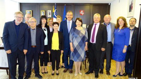 Kelmės savivaldybėje lankėsi Miastko delegacija