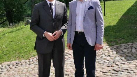 Jurbarke lankėsi Prancūzijos ambasadorius Lietuvoje PHILIPPE JEANTAUD