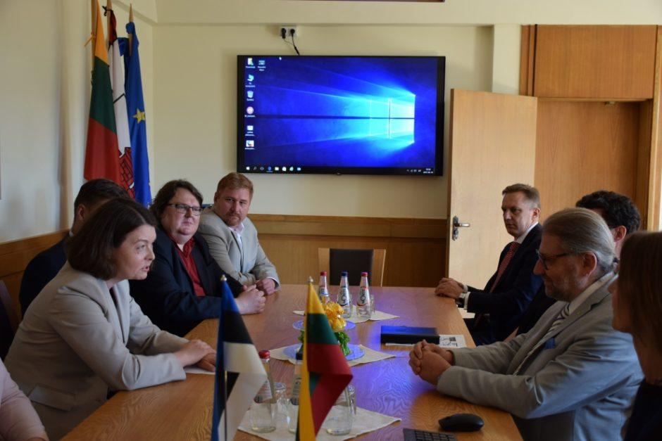 Panevėžyje viešėjo Estijos ambasadorė