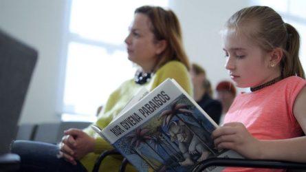 54-erius metus Lietuvos vaikų laukta kultinė knyga