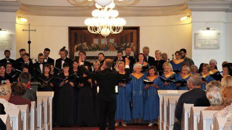 Koncertu ir iškilmingomis pamaldomis Tauragėje paminėta reformacijos 500 metų sukaktis