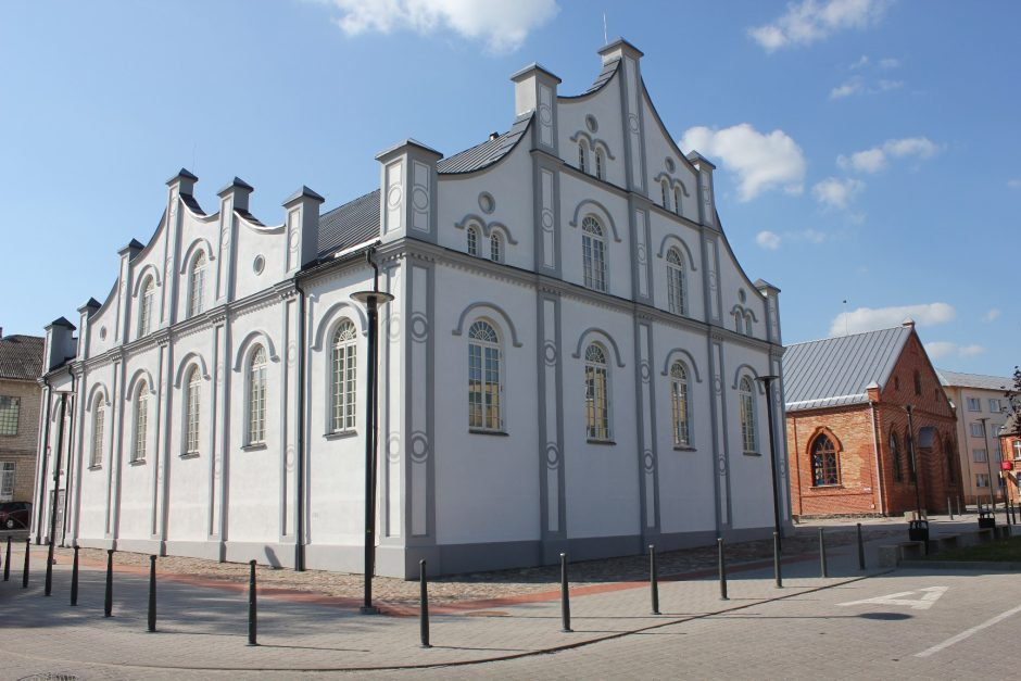 Šeštadienį atidaroma Joniškio Baltoji sinagoga