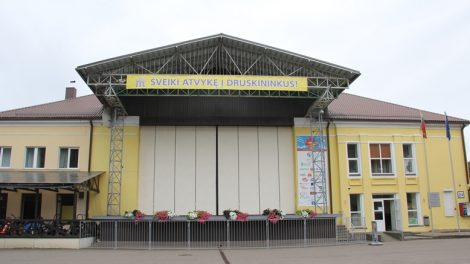 Druskininkų Pramogų aikštėje bus įrengtas vasaros kino teatras