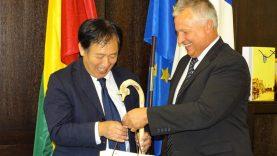 Kelmės rajone lankėsi Japonijos ambasadorius Lietuvoje