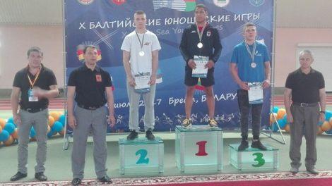Radviliškietis imtynininkas – Baltijos jūros šalių jaunių žaidynių prizininkas