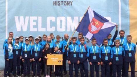 Tarptautinėse vaikų žaidynėse Kauno rajono sportininkams – prizinės vietos