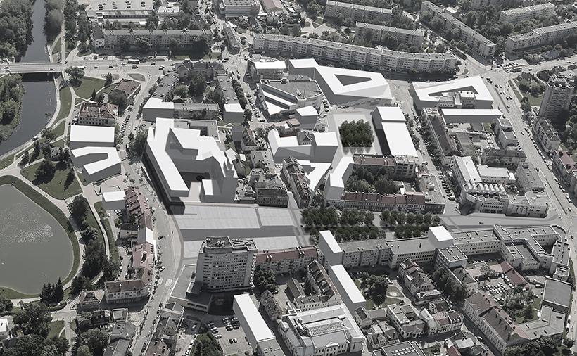 Architektai pateikė 10 Panevėžio miesto Laisvės aikštės ir miesto centro atnaujinimo idėjų