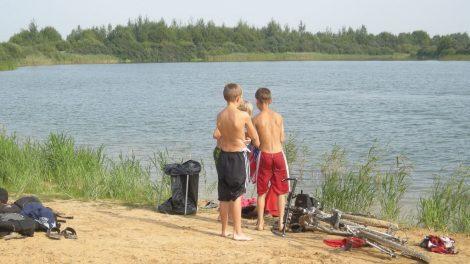 Jūros upėje ir Keramikos tvenkinyje maudytis galima
