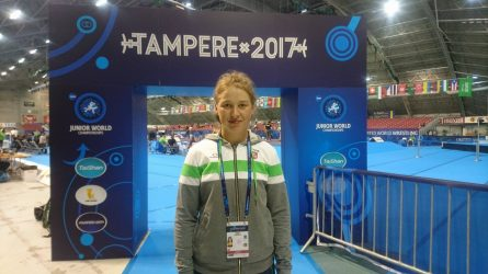 Pasaulio jaunimo imtynių čempionate – Anykščių KKSC auklėtinės staigmena